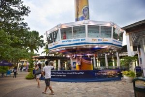 Tiger Sky Tower Unlimited Ride Admission E-Ticket