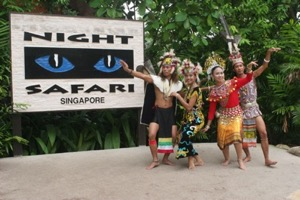 Singapore Night Safari Tour